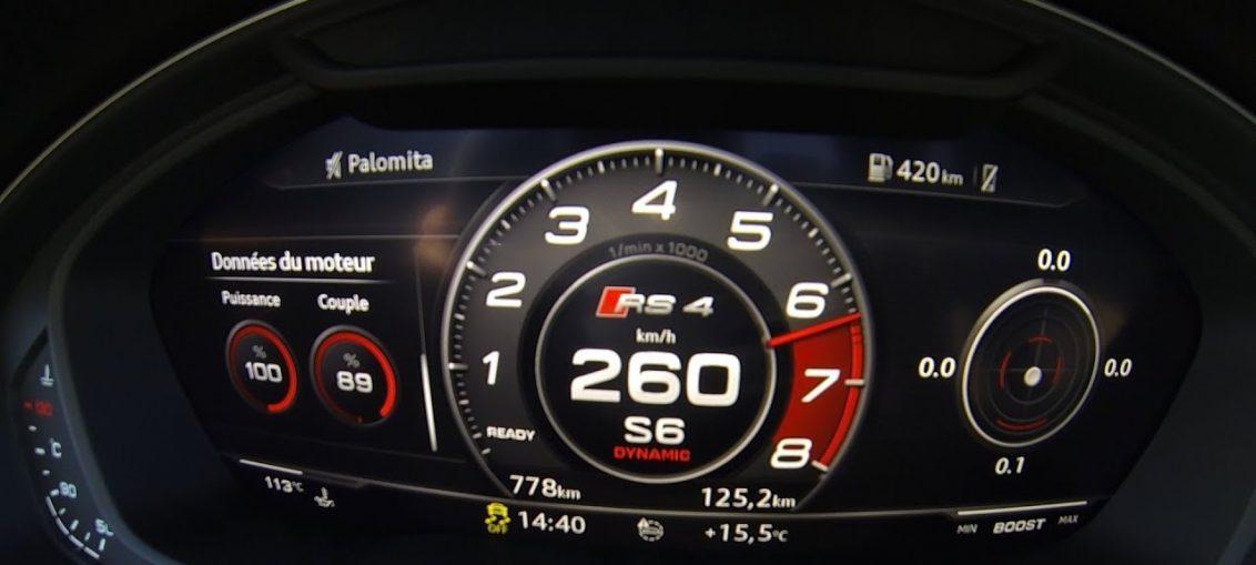 Audi RS4 2018 acceleration Sound