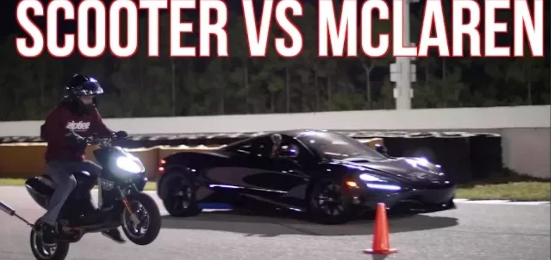 Scooter Challenges Hellcat