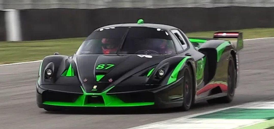 Ferrari FXX Evoluzione V12 Sound