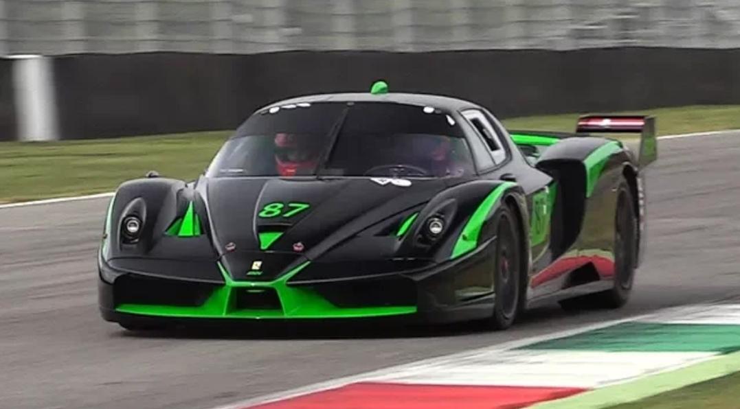 Ferrari Fxx Evoluzione V12 Sound Best Of 2017 From Imola Monza Amp Mugello Circuit Turbo And