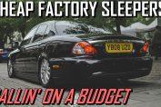 cheap stock sleepers