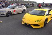 Lamborghini Huracan Novitec N-Largo S vs Audi RS6 Avant