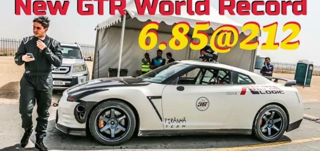 Quickest GTR 1/4 Mile WORLD RECORD!!! Rob Harper And Alpha