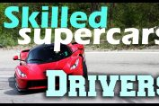 Skilled Supercar Drivers! Awesome runs, powerslides, drift and donuts