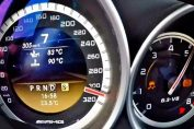 Tuned C63 amg acceleration