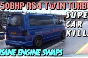 Twin turbo volkswagen transporter