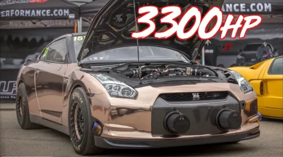3300HP Alpha Queen GTR 228MPH! - Worlds Most Powerful GTR ...
