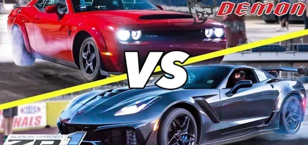 ZR1 vs Demon