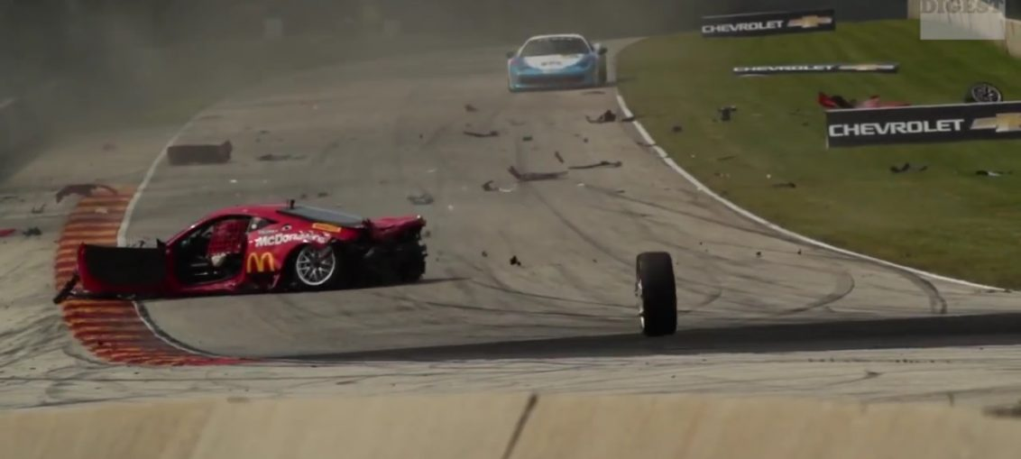 ferrari crashes crash stance