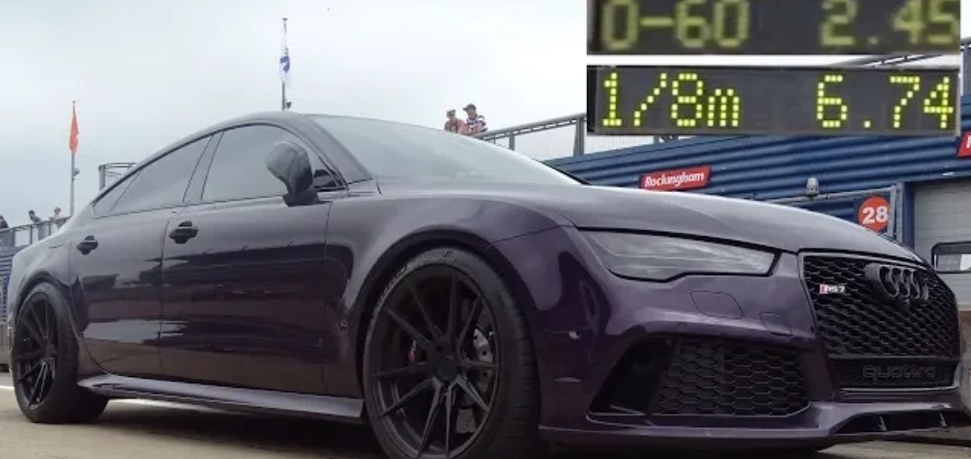Audi 0 60 >> 773bhp Audi Rs7 0 To 60mph 2 45 Seconds Turbo And Stance