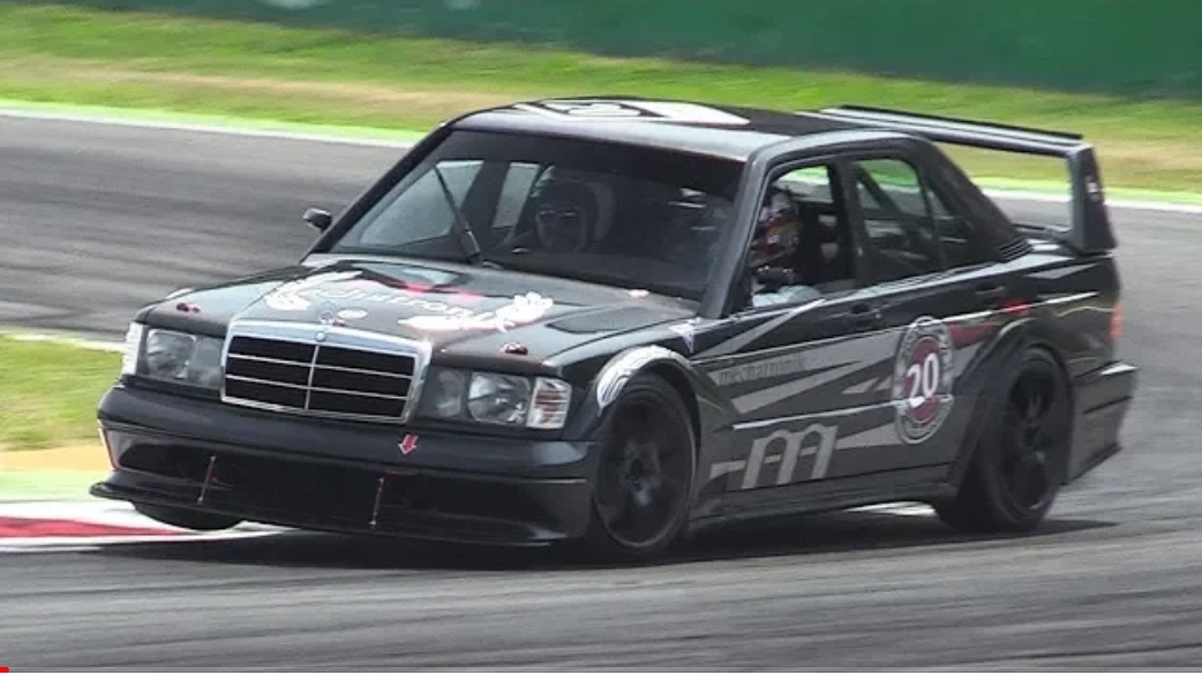 Mercedes 190e 2 5 16 Evolution Ii W Dtm Mods Accelerations Amp Fly Bys On Track Turbo And Stance