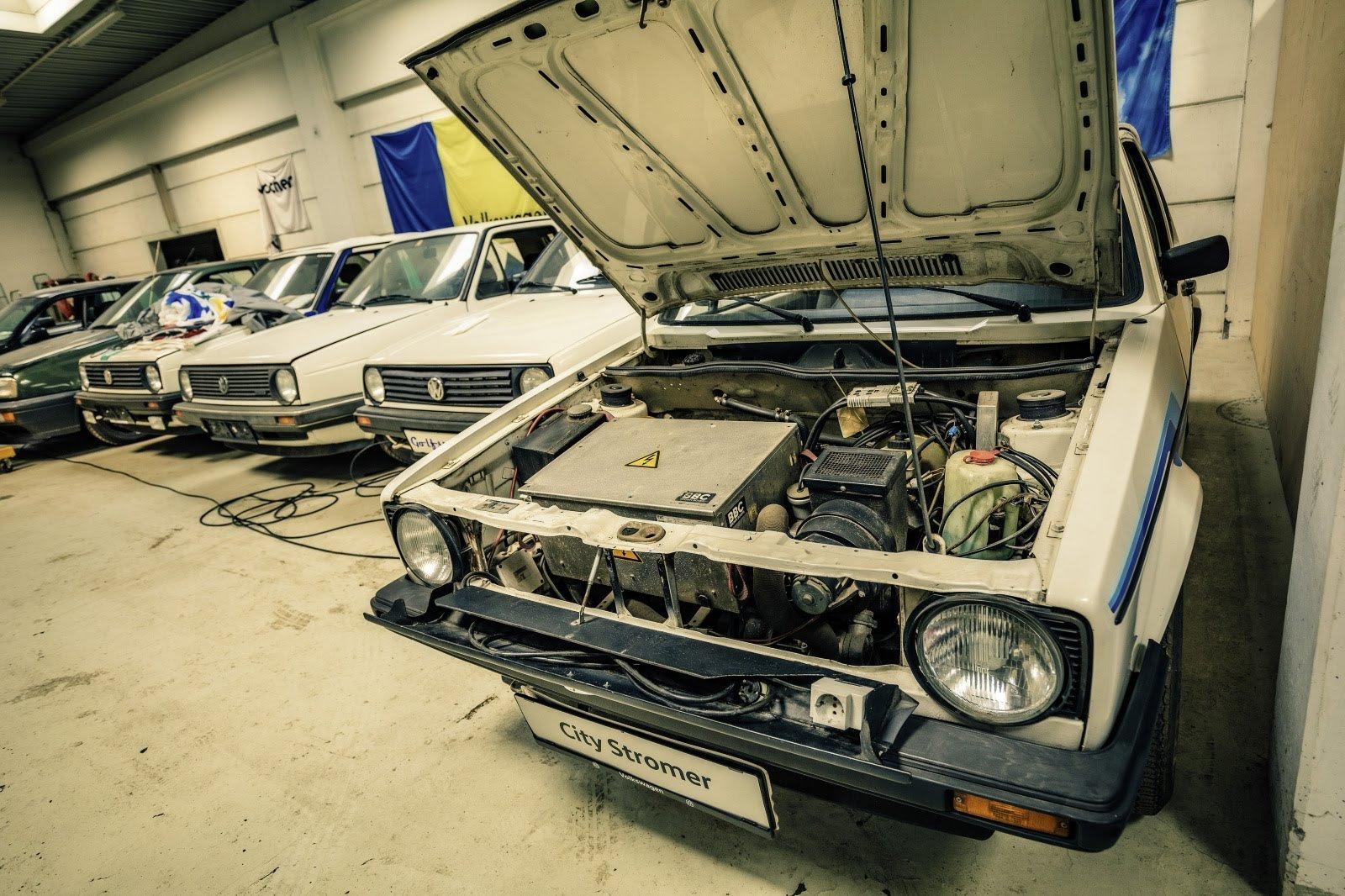 guy owns 114 Volkswagen Golfs