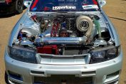 BIG TURBO Nissan Skylines
