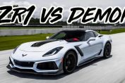 2019 Corvette ZR1 vs Dodge Demon