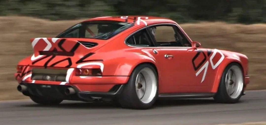 Porsche 911 Singer DLS 4.0 N/A Flat Six