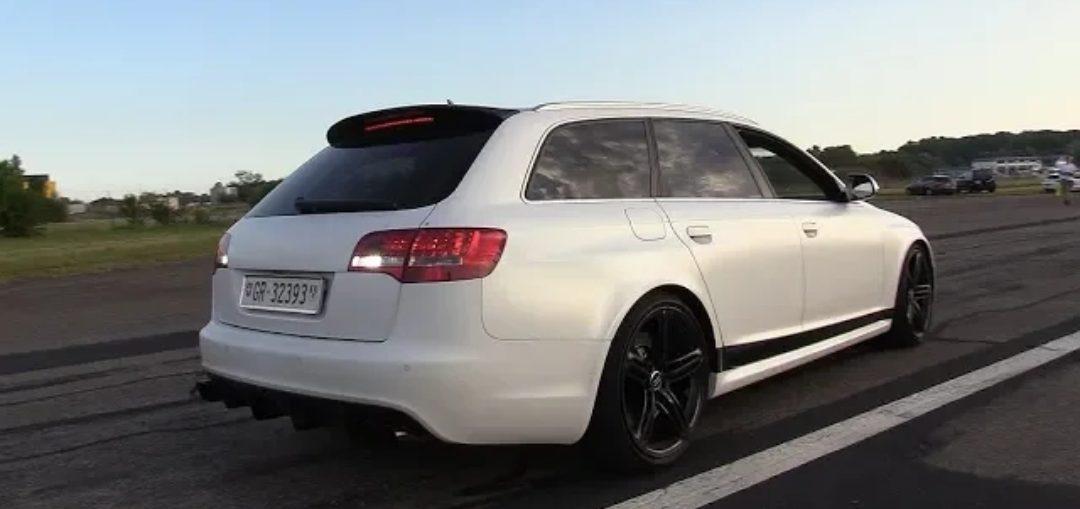 Audi RS6 C6 V10 BiTurbo Akrapovic