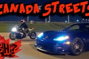 CANADA Street Racing + Evading POLICE, 1100hp Corvette, RX7 & more!