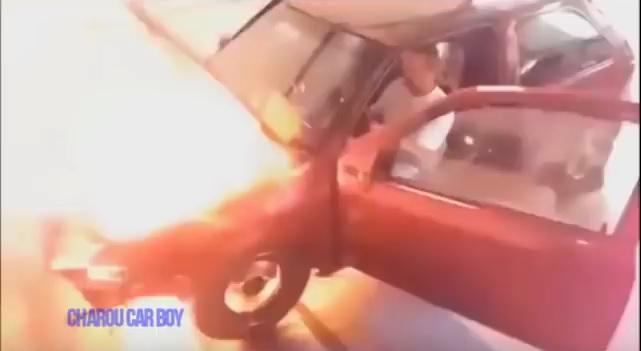 engine explosions