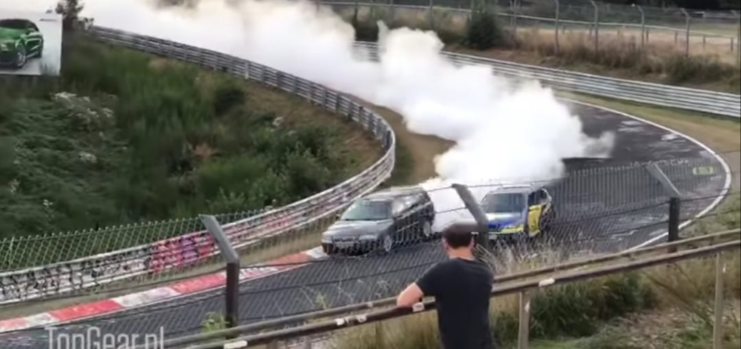 Volvo V70 smoked the Whole Nürburgring