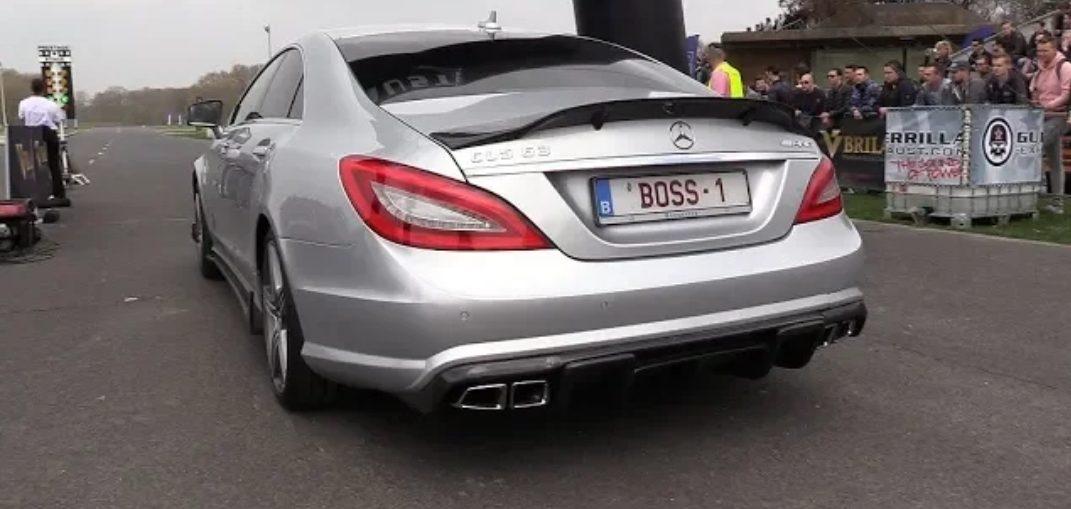 RENNtech Mercedes CLS63 AMG