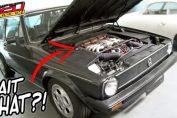 Artz VW GTI with a V8