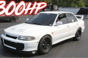 800HP Lancer Evo 2 big turbo