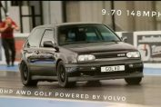 Volvo t5 powered golf