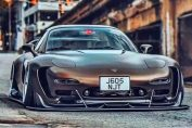 Big Turbo Rotary Mazda RX-7 13B 20B
