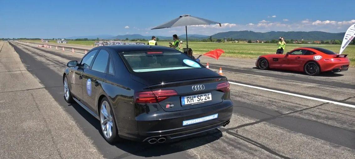 Audi S8 Plus R35 GT-R