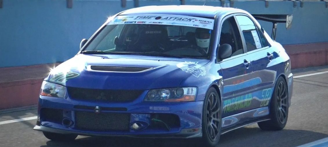 Mitsubishi Lancer Evolution turbo Stance