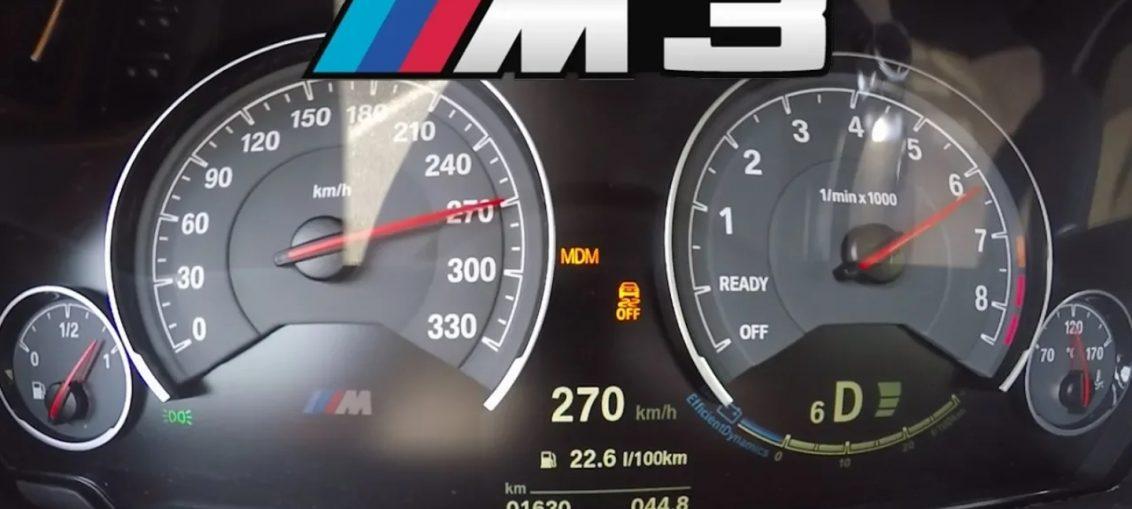 BMW M3 F80 Acceleration