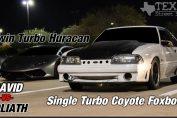 Single Turbo Coyote Foxbody
