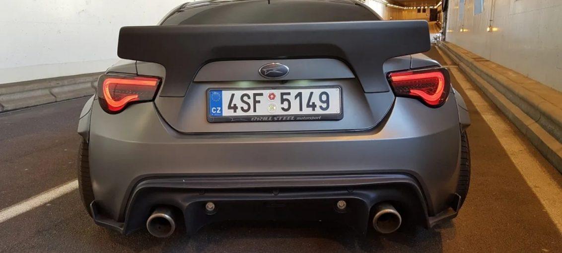 Subaru BRZ V8 LS2 Swap