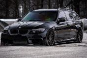 BMW 335i Big Turbo 900HP E91