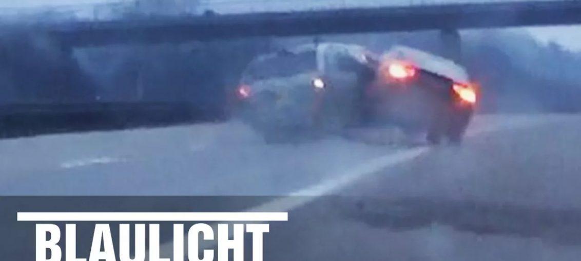 Audi A5 autobahn acceleration