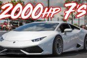 2000HP Lamborghini Huracan Twin Turbo