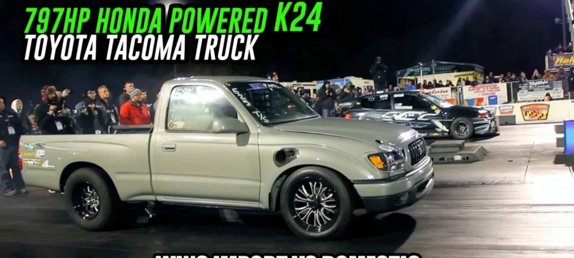 Fastest K24 Turbo Swapped Truck