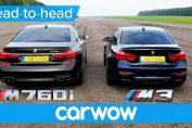 BMW 760Li vs BMW M3 competition