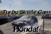 Single cam Turbo Civic Vtec