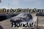 Single cam Turbo Civic Vtec