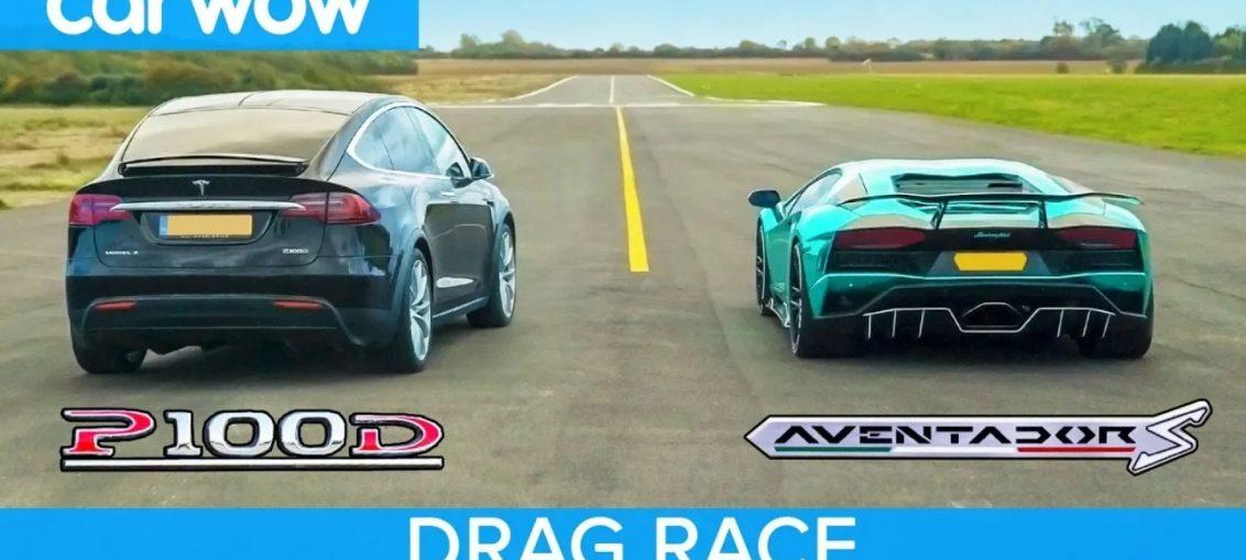 Lamborghini Aventador VS Tesla Model X