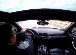 BMW E46 M3 Hard Crash