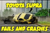 Toyota Supra Crashes Fails