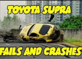 Toyota Supra Crashes Fails
