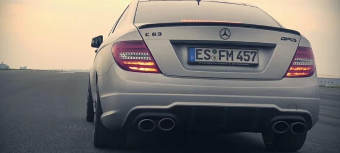 C63 AMG Gad Turbo Acceleration Sound