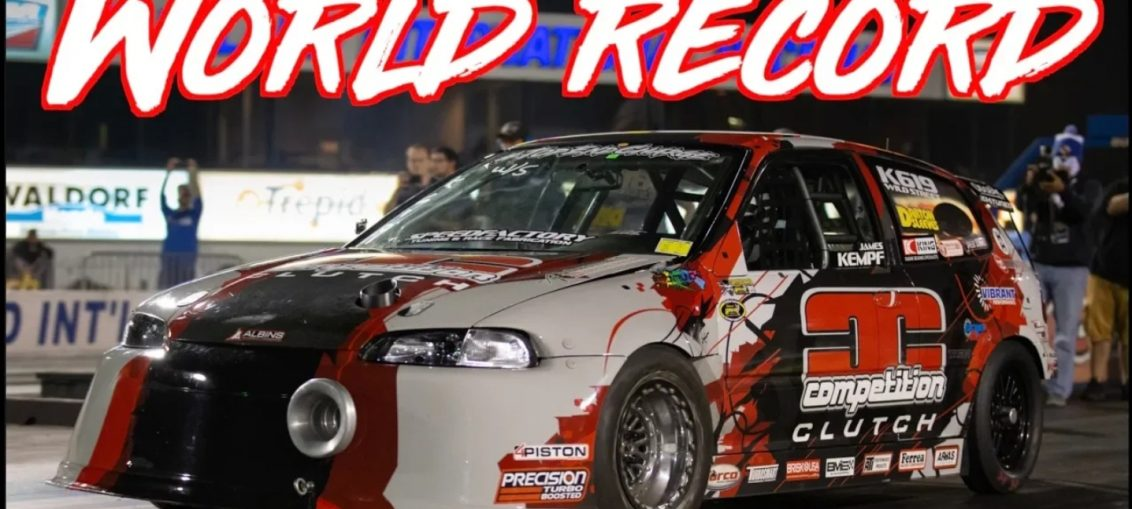 World record K20 Honda Civic Fastest FWD