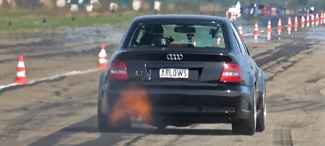 1300HP Audi RS4 Hannover Hardcore