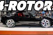4-rotor Mazda RX-7 David Mazzei