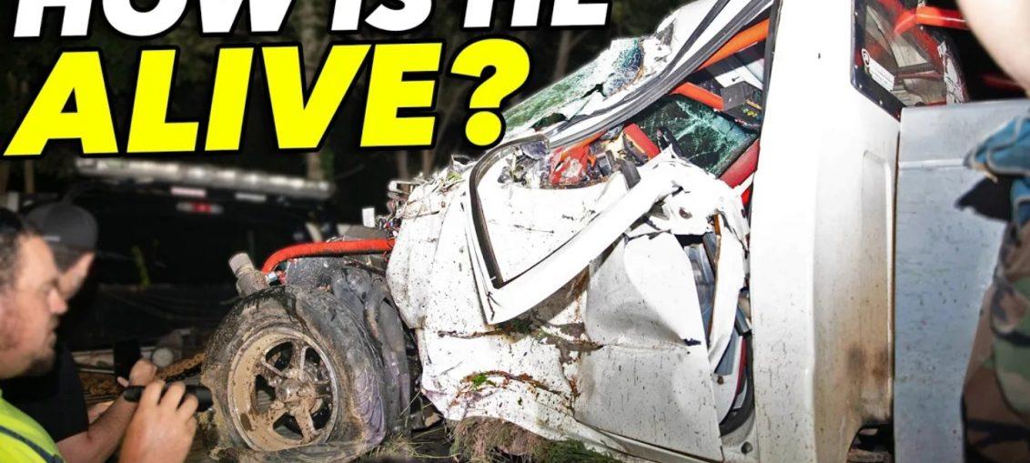 streetrace drag race crash