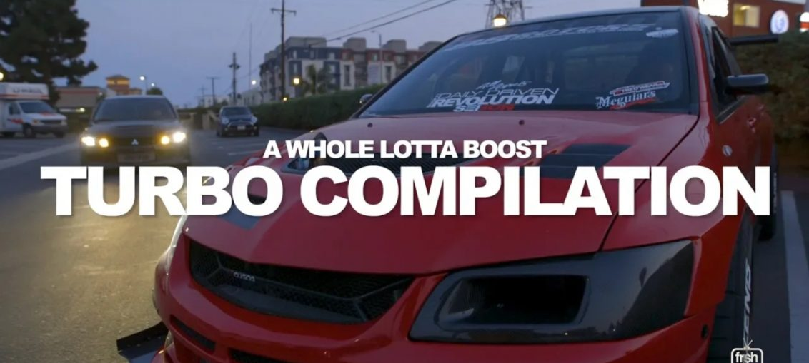 Big Boost Evos STI GTR R35